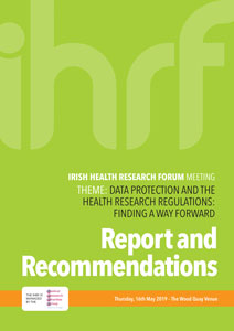 Report on data protection & health research