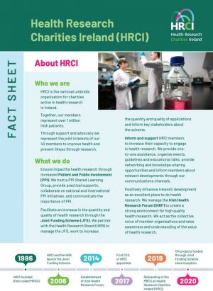 Click here for an at-a-glance guide to the HRCI/HRB Joint Funding Scheme.